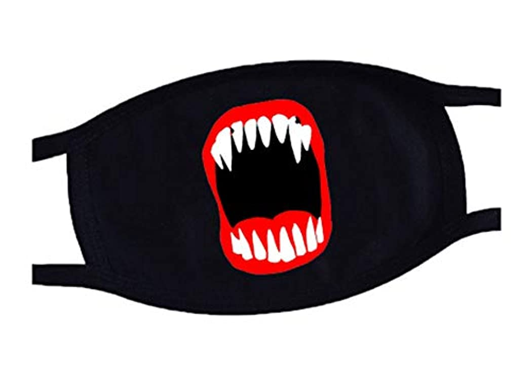 静めるレンズ滅びるクールマウスマスク、コットンレイブマフルマスクアンチダストマウスマスク - T3