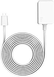 3 meter Power Adaptor for Ring Indoor Cam, White
