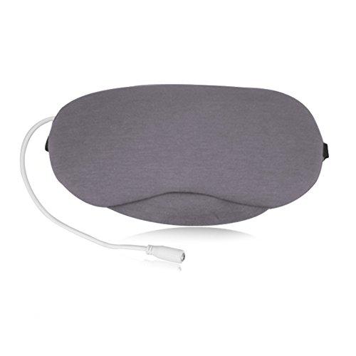 【tosexo】アイマスク USB電熱式温熱 安眠 遮光 ホット 冷却 パック 温冷両用アイマスク マッサージビーズ 目の疲れ 浮腫みやクマ解消 寝室や旅行中の安眠に最適