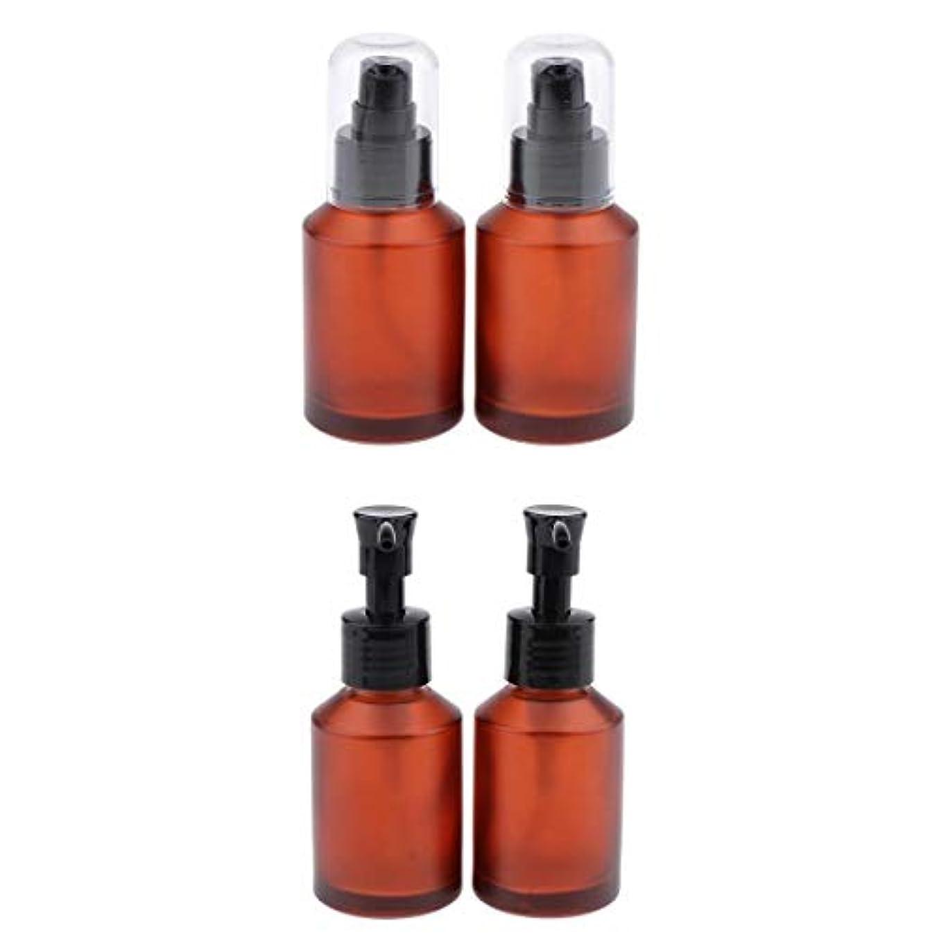 リーク困惑素晴らしき4個セット スプレーボトル スポイト瓶 遮光瓶 ガラス製 精油瓶 詰め替え アロマ保存容器 小分け用