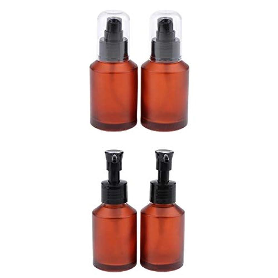 T TOOYFUL 4個セット スプレーボトル スポイト瓶 遮光瓶 ガラス製 精油瓶 詰め替え アロマ保存容器 小分け用