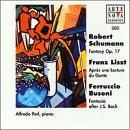 Schumann/Liszt/Busoni