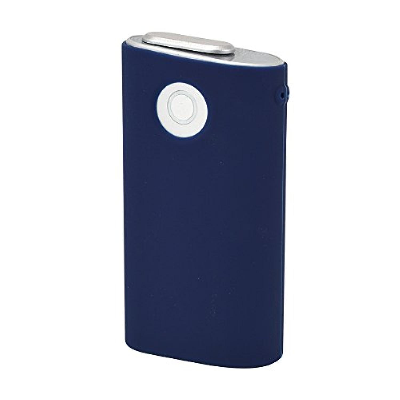 グロー ケース glo シリコンスリーブ グロウ 収納ケース カバー 電子タバコ (ネイビー)