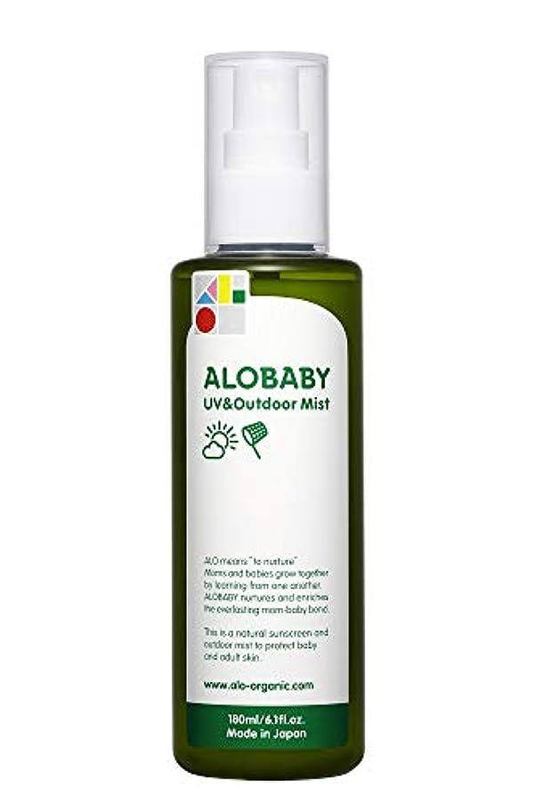 アロベビー UV&アウトドアミスト ビッグボトル 180ml (1本)