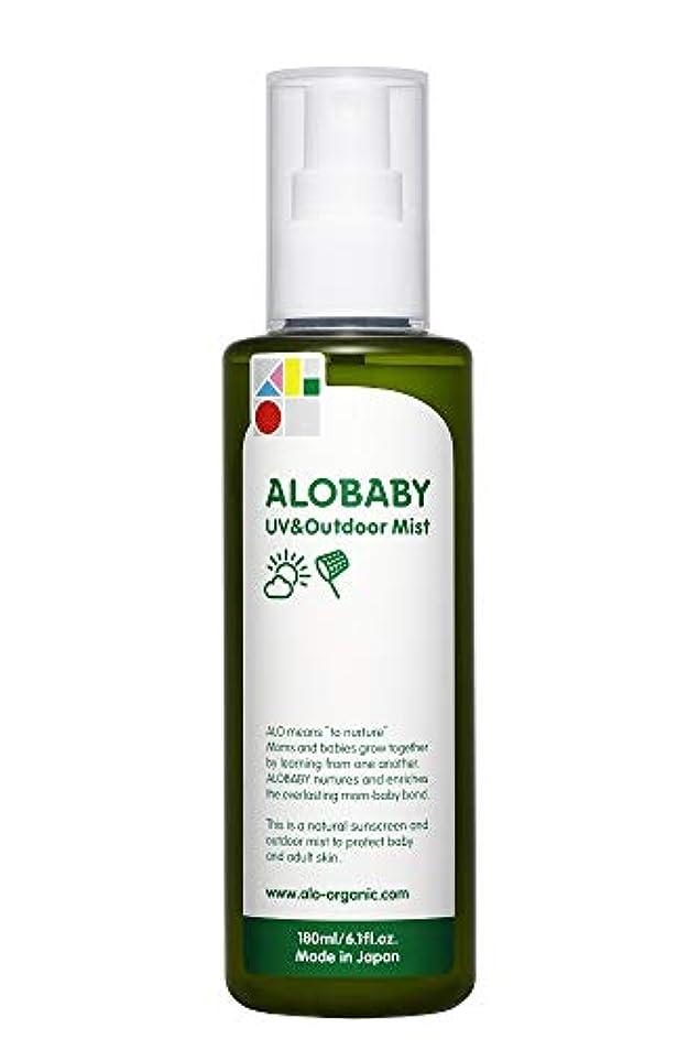 アパルランドリー勧告アロベビー UV&アウトドアミスト ビッグボトル 180ml (1本)