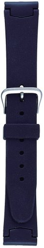 『BAMBI 時計バンド ウレタン 黒 14.16.17.18mm BG600A-P』のトップ画像