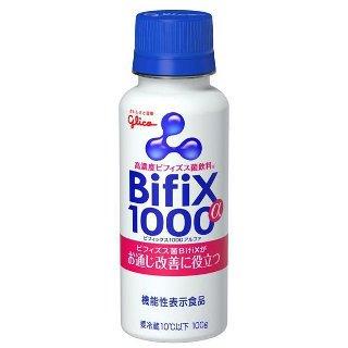 グリコ 高濃度ビフィズス菌飲料Bifix1000 a 100g 12本
