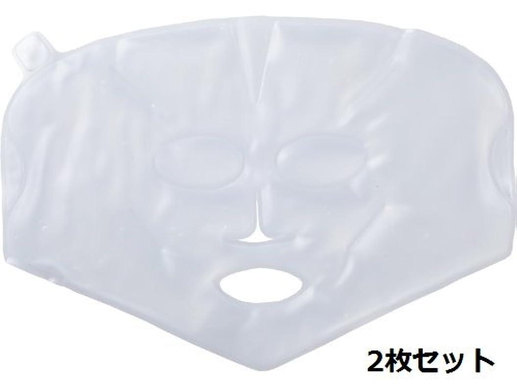 レンド繕う復讐【温感?冷感兼用】柔らかく使用感の良い、業務用バイオジェルマスク 2枚セット