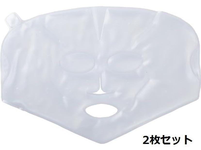 【温感?冷感兼用】柔らかく使用感の良い、業務用バイオジェルマスク 2枚セット