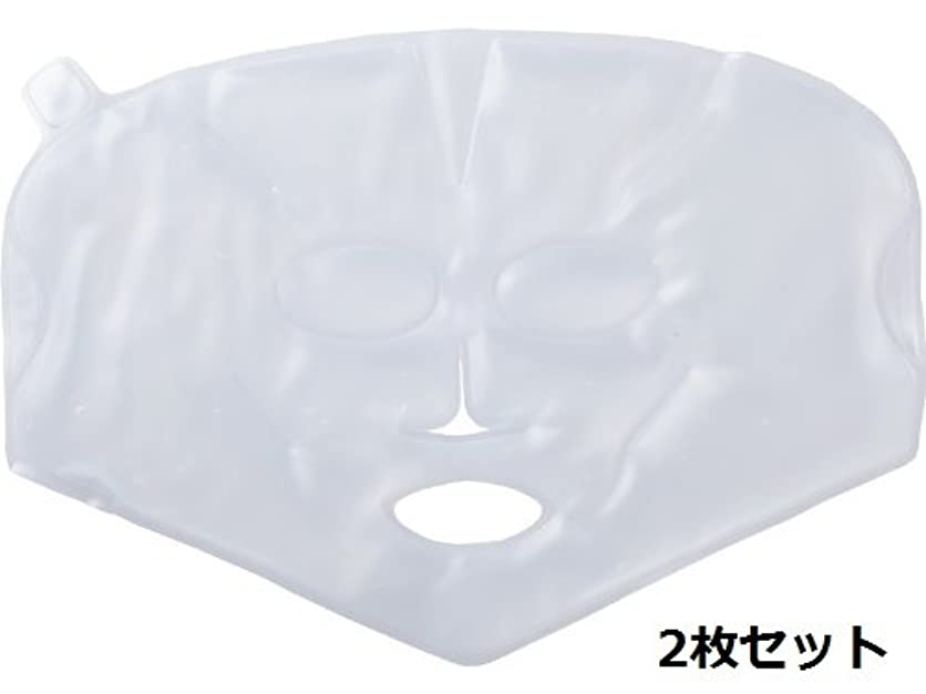 レースレビューフロンティア【温感?冷感兼用】柔らかく使用感の良い、業務用バイオジェルマスク 2枚セット
