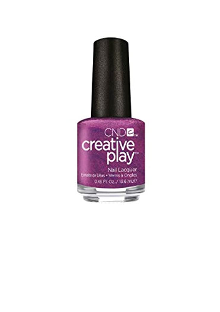 一時停止ブル批判するCND Creative Play Lacquer - Raisin' Eyebrows - 0.46oz / 13.6ml