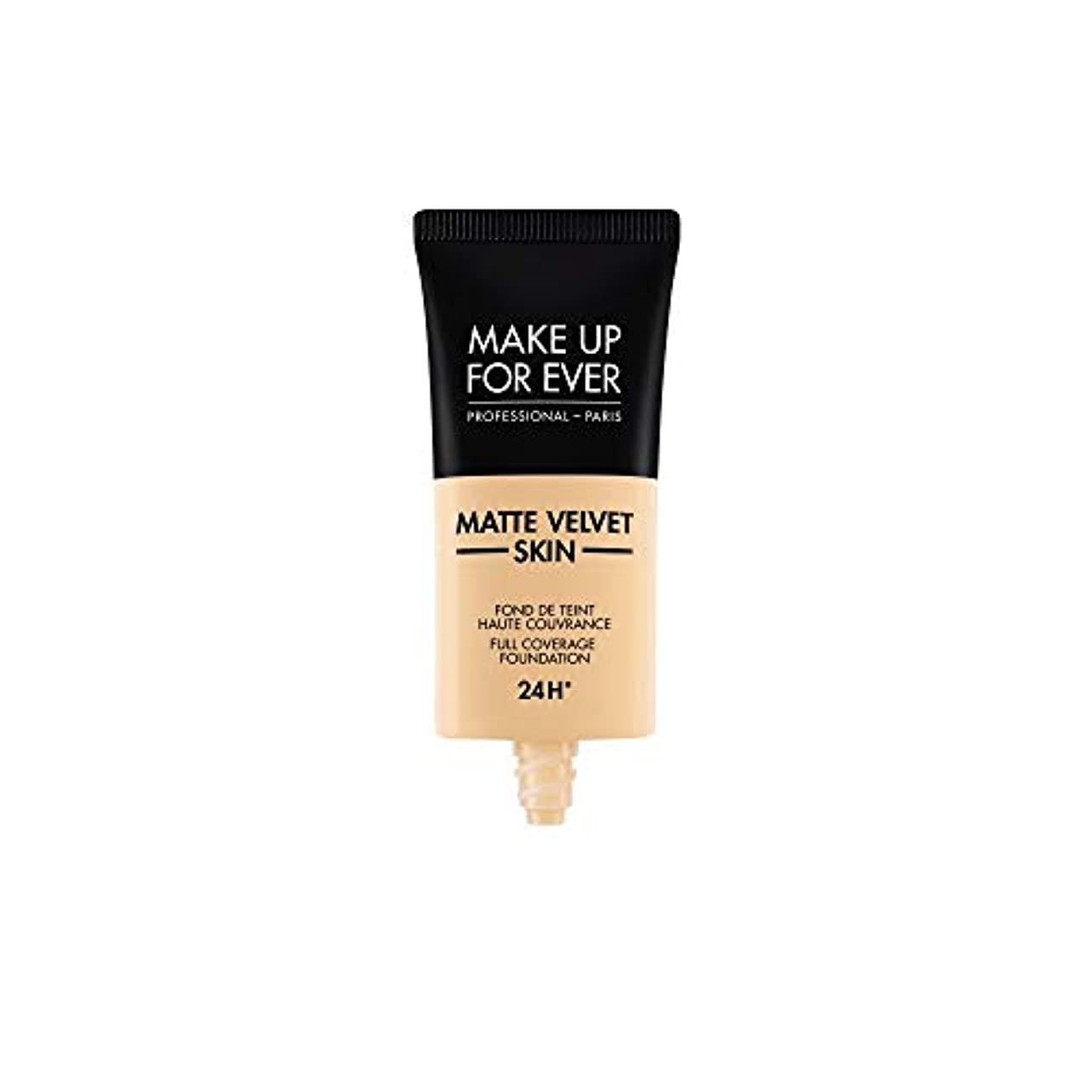 メイクアップフォーエバー Matte Velvet Skin Full Coverage Foundation - # Y225 (Marble) 30ml/1oz並行輸入品