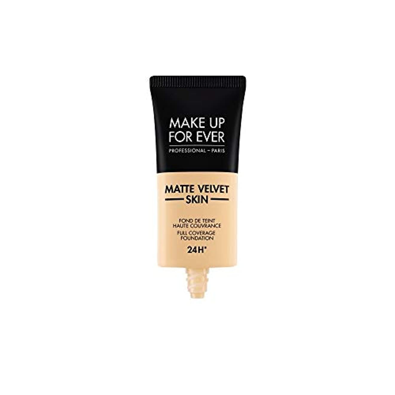追加参加するかろうじてメイクアップフォーエバー Matte Velvet Skin Full Coverage Foundation - # Y225 (Marble) 30ml/1oz並行輸入品