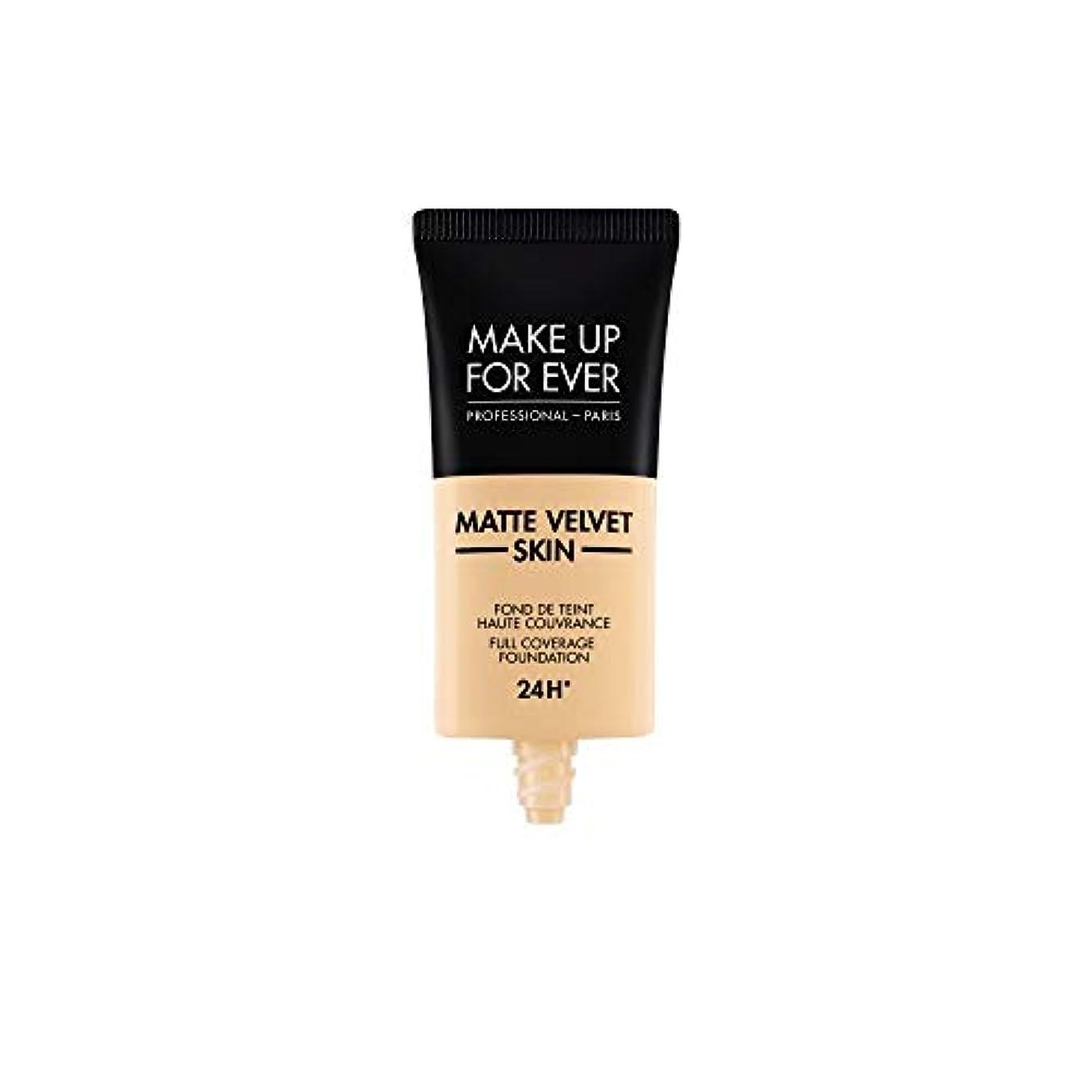 速い驚きフリッパーメイクアップフォーエバー Matte Velvet Skin Full Coverage Foundation - # Y225 (Marble) 30ml/1oz並行輸入品