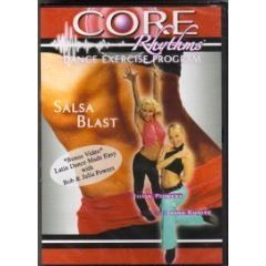【ショップジャパン海外正規品】 コアリズム サルサブラスト salsa-blast Core Rhythms Dance Exercise Program: Salsa Blast