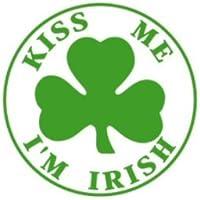 Kiss Me I'm Irish Bib by The Baby Company
