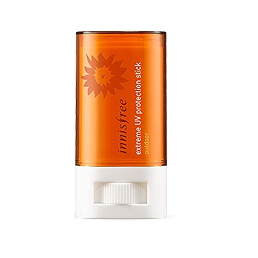 不機嫌したい潤滑するイニスフリーエクストリームUVプロテクションスティックアウトドアSPF50 + PA ++++ 19g Innisfree Extreme UV Protection Stick Outdoor SPF50 + PA +...