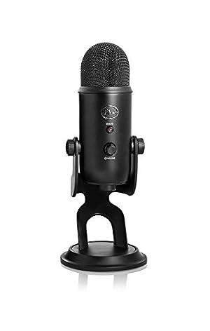 Blue Microphones Yeti USBマイク【日本正規代理店品・メーカー保証2年】ブラック 2070 指向性4モード