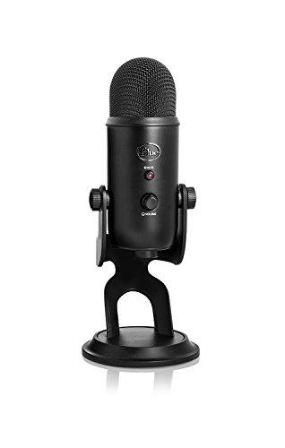 Blue Microphones Yeti USBマイク ブラック 2070 指向性4モード B01JZ6H6VU 1枚目