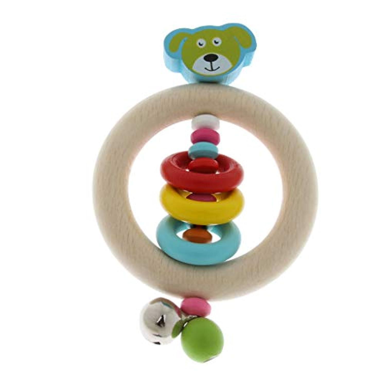 CUTICATE 幼児用ラトル ベビーカー用ラトル ハンドベルリング 揺れる楽器 ベビーガール 幼児 早期発育おもちゃ