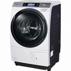パナソニック 10.0kg ドラム式洗濯乾燥機【右開き】クリスタルホワイトPanasonic エコナビ ナノイー NA-VX9300R-W