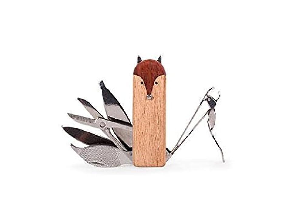 賛辞巨大な正義KIKKERLAND Fox Manicure Set フォックスマニキュアセット MN75