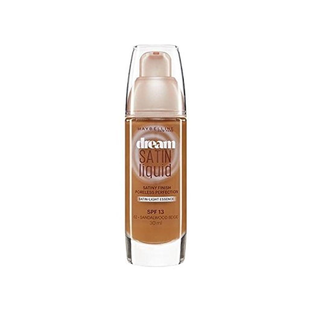 失礼値する最も早いメイベリン夢サテンリキッドファンデーション64深いスパイス30ミリリットル x4 - Maybelline Dream Satin Liquid Foundation 64 Deep Spice 30ml (Pack of...