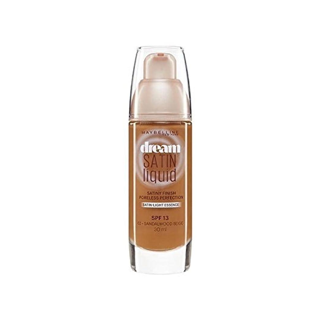 微生物データただメイベリン夢サテンリキッドファンデーション64深いスパイス30ミリリットル x2 - Maybelline Dream Satin Liquid Foundation 64 Deep Spice 30ml (Pack of...