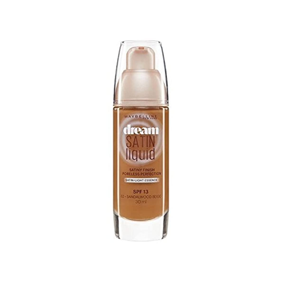 アクチュエータ例枯渇するメイベリン夢サテンリキッドファンデーション64深いスパイス30ミリリットル x4 - Maybelline Dream Satin Liquid Foundation 64 Deep Spice 30ml (Pack of...