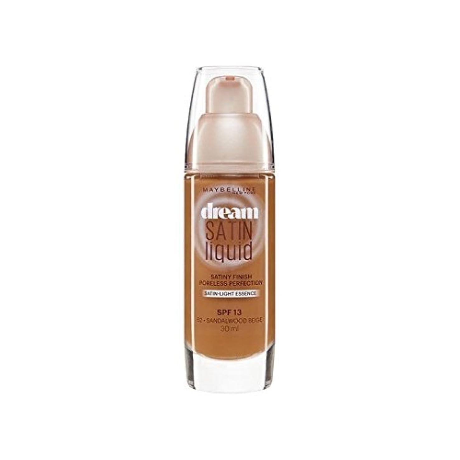 入場距離魔術師Maybelline Dream Satin Liquid Foundation 64 Deep Spice 30ml - メイベリン夢サテンリキッドファンデーション64深いスパイス30ミリリットル [並行輸入品]
