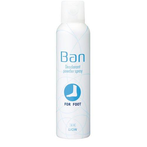 バン(Ban) フットデオドラントスプレー(135g)ライオン