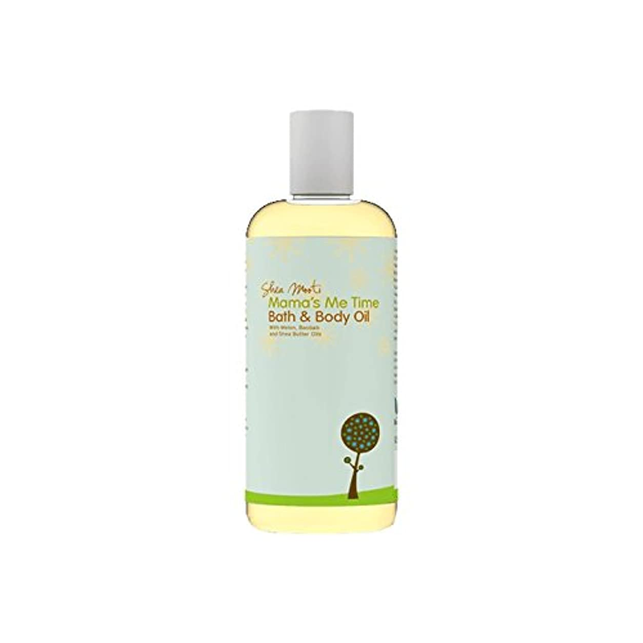 ヨーロッパモール部族Shea Mooti Mama's Me Time Bath and Body Oil 110g (Pack of 6) - シアバターMootiママの私の時間のバス、ボディオイル110グラム (x6) [並行輸入品]