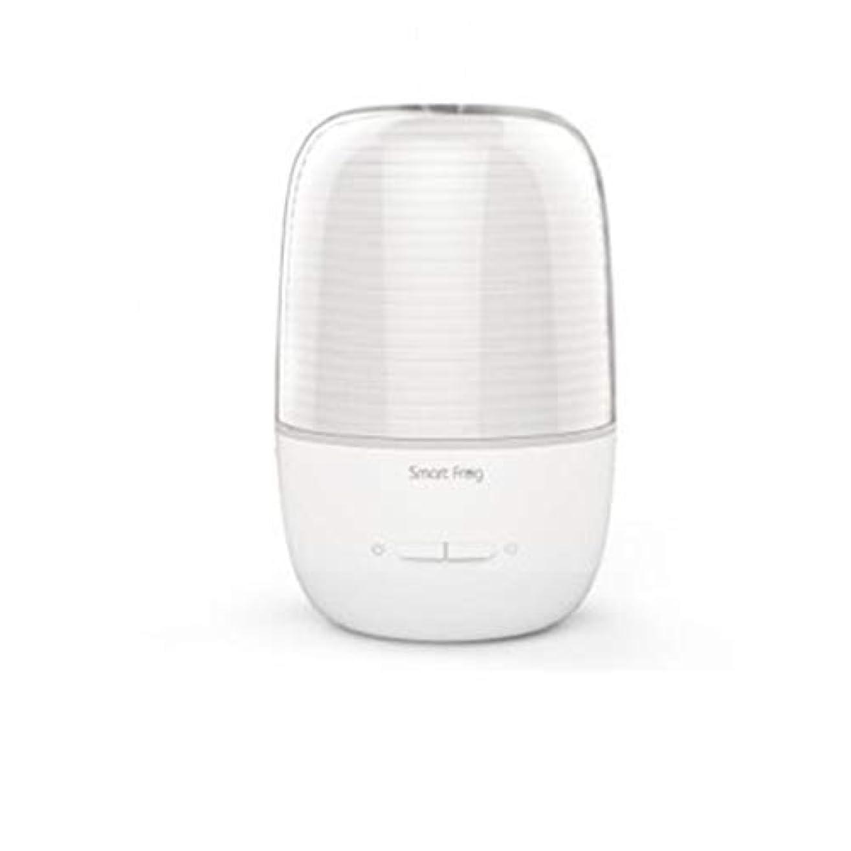 才能甘美なシンプトン130ml超音波冷たい霧の加湿器の変更家のヨガのオフィスの鉱泉の寝室の拡散器 (Color : White)