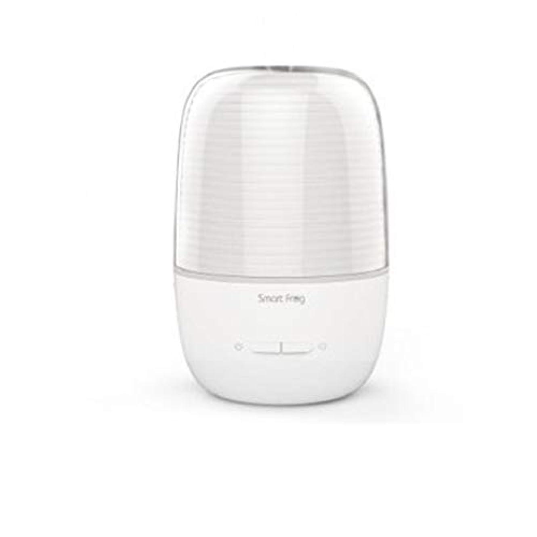 無駄な十分な弾丸130ml超音波冷たい霧の加湿器の変更家のヨガのオフィスの鉱泉の寝室の拡散器 (Color : White)