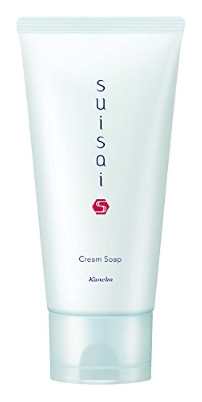 広告する質素な有効化スイサイ 洗顔料 クリームソープ 125g