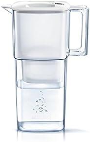 BRITA 碧然德 凈水器 水壺 凈水部分容量:1.1升 全容量:2.2升 驪住 McStror Plus 附帶1個濾芯 【日本正品】氯 水垢 不純物 去除