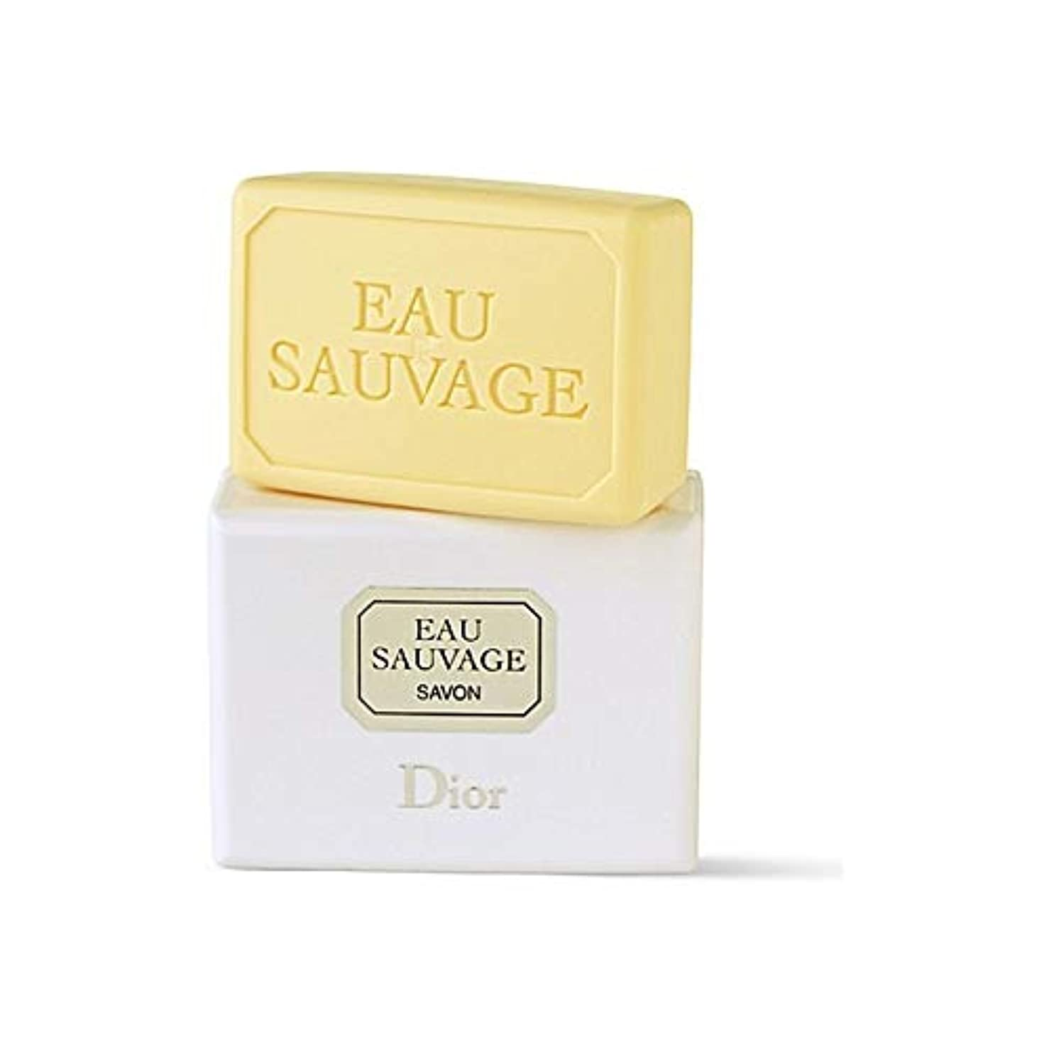争う雨の工業化する[Dior ] ディオールオーソバージュソープ - Dior Eau Sauvage Soap [並行輸入品]