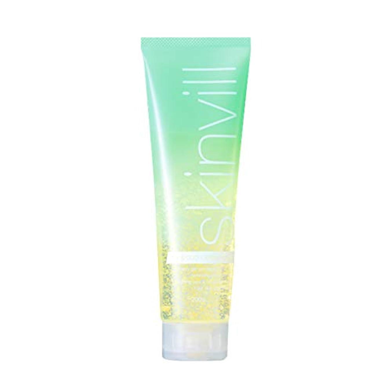 【2019年夏限定】skinvill スキンビル ホット&クールクレンジングジェルVC レモンシトラスミントの香り 200g