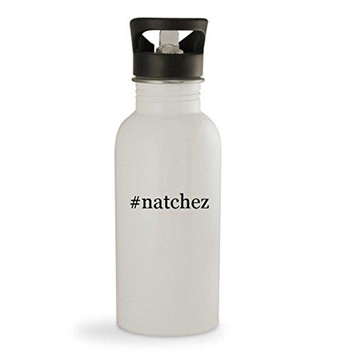 # Natchez ? 20ozハッシュタグ頑丈なステンレススチールウォーターボトル ホワイト