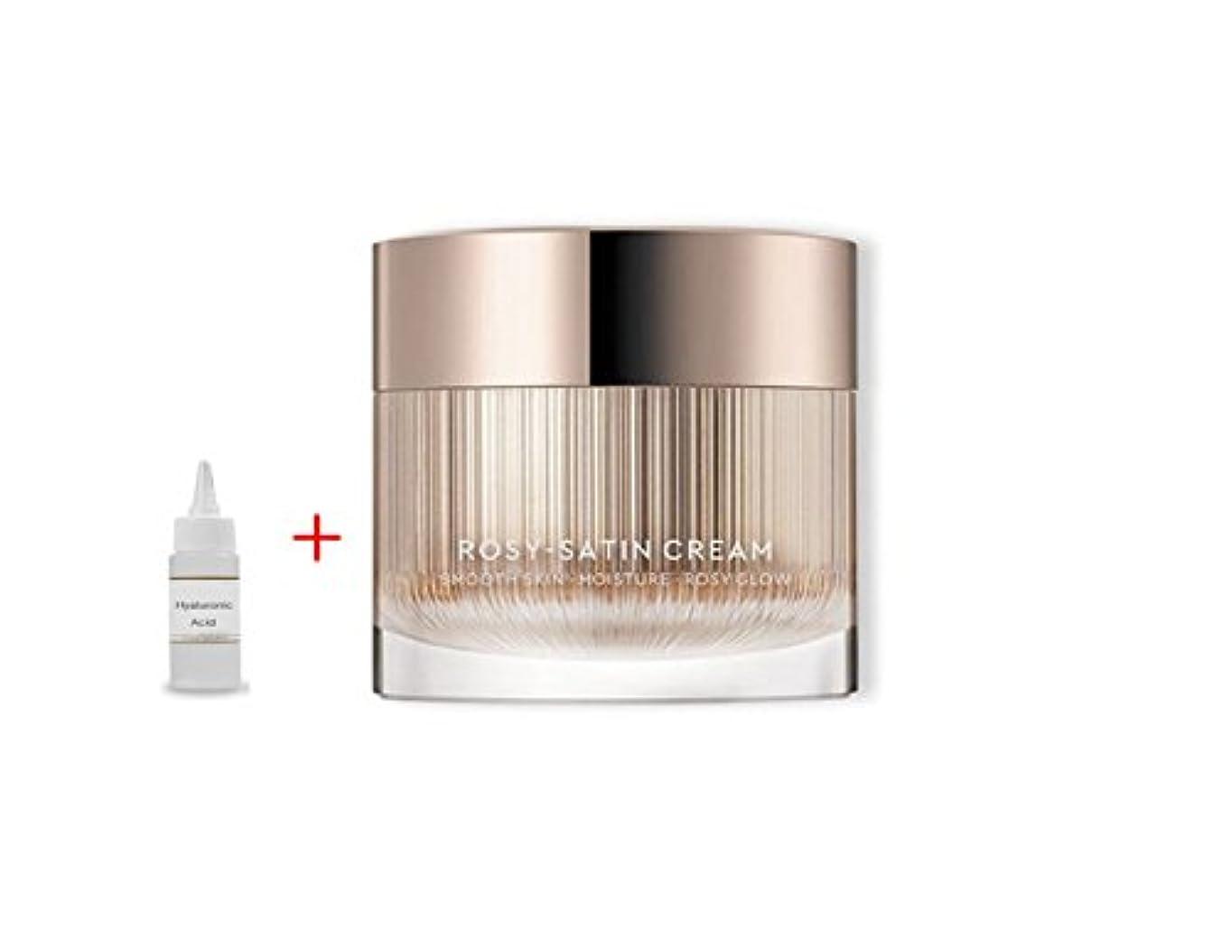 バイソン恐ろしい痛いHERA New Rosy Satin Cream 50ml:Smooth Skin Moisture Rosy Glow 滑らかな肌の保湿化粧水 + Ochloo Hyaluronic Acid 20ml [並行輸入品]