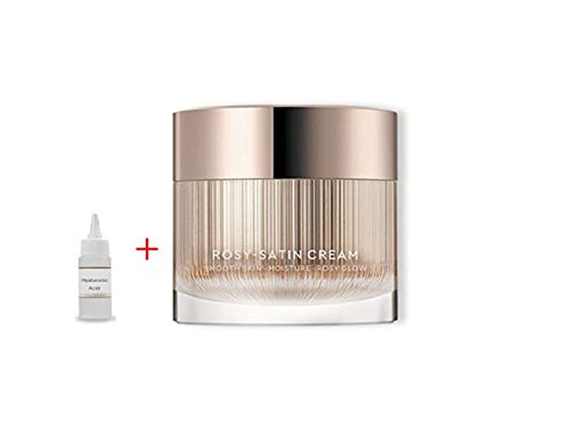 可決容赦ない特性HERA New Rosy Satin Cream 50ml:Smooth Skin Moisture Rosy Glow 滑らかな肌の保湿化粧水 + Ochloo Hyaluronic Acid 20ml [並行輸入品]