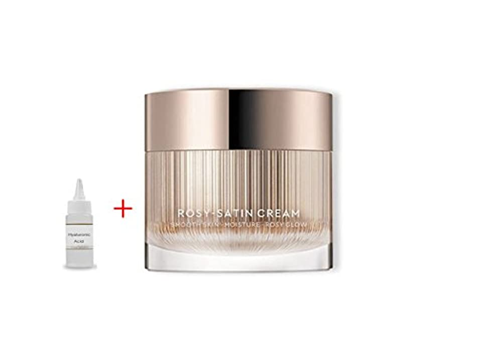 クレデンシャル周波数前提HERA New Rosy Satin Cream 50ml:Smooth Skin Moisture Rosy Glow 滑らかな肌の保湿化粧水 + Ochloo Hyaluronic Acid 20ml [並行輸入品]