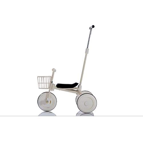 キッズ Trikes 3輪 スマートデザイン キッズ 子供 トライク 自転車 乗馬 2~5歳 ホワイト asd123654