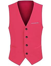 CEEN メンズ スーツベスト 上品 フォーマル おしゃれ ジレベスト スーツ仕立て Vネック カジュアル スリム ビジネス  紳士