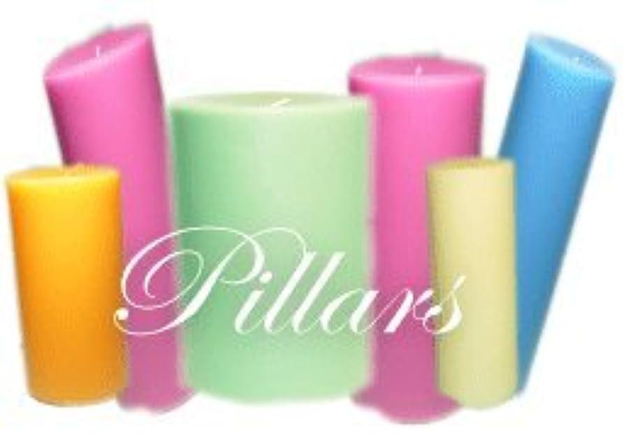 コイルパキスタン人手段Trinity Candle工場 – Wisteria – Pillar Candle – 3 x 3