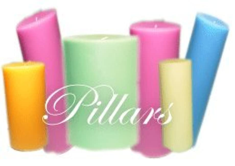 貫通乳製品未亡人Trinity Candle工場 – Wisteria – Pillar Candle – 3 x 3