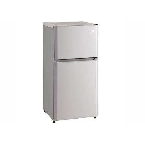 ハイアール 106L 2ドア冷蔵庫(直冷式)シルバーHaier JR-N106H(S)