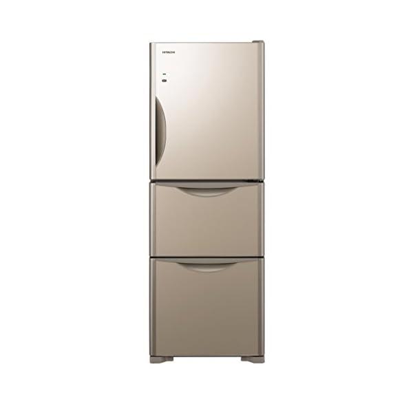 日立 冷蔵庫 265L 3ドア クリスタルシャン...の商品画像