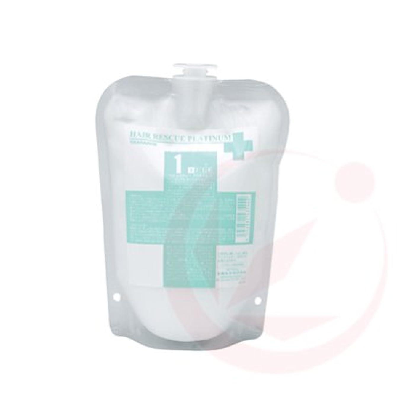 ファセット宣言血タマリス ヘアレスキュープラチナム 1 500g(業務?詰替用)
