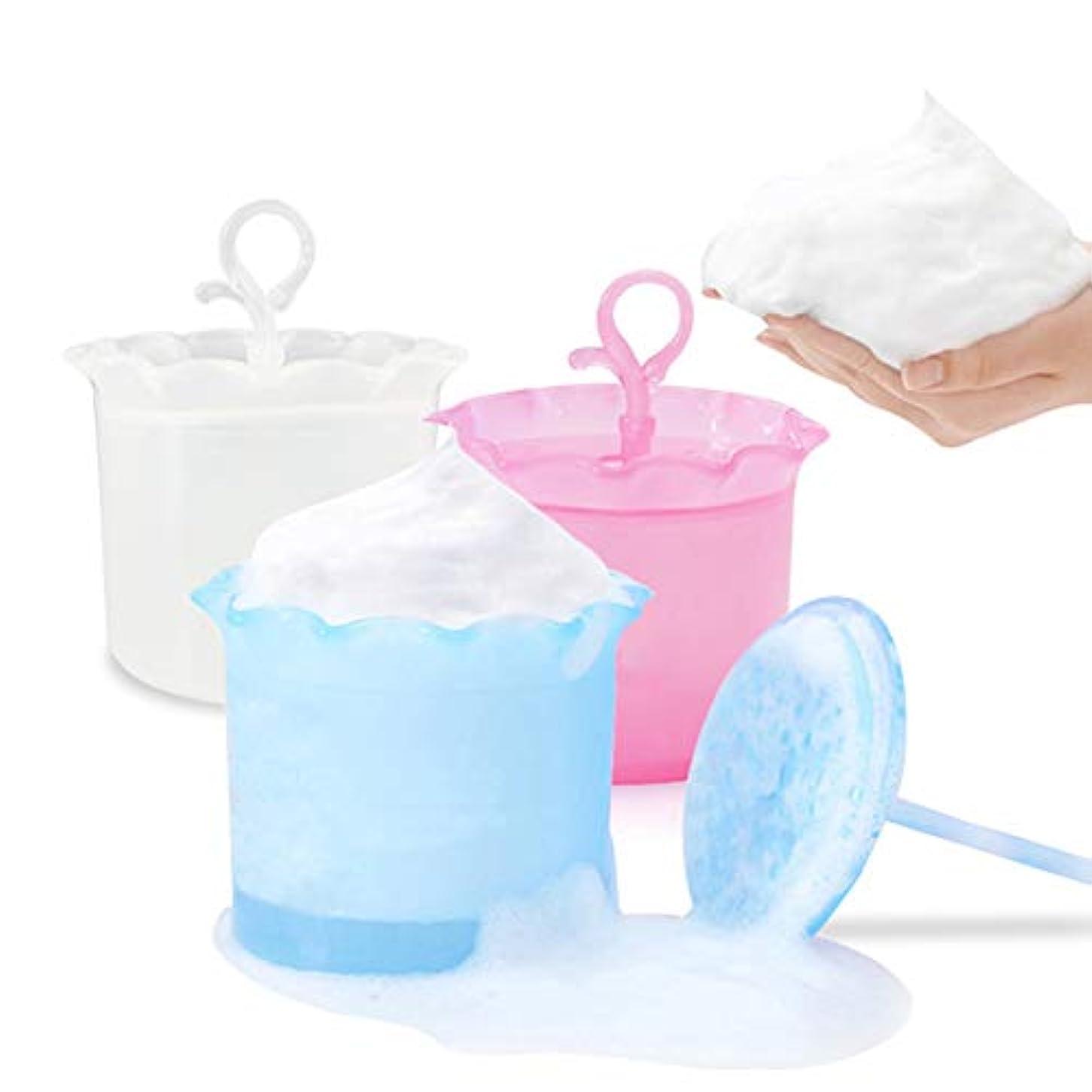 警察合成膜泡メーカーバブルフェイシャルクレンザーフォームフェースクリーンツールクレンジングカップマシュマロホイップメーカー (1pc)
